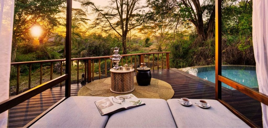 Denys Finch Hatton Presidential Suite Viewing Deck